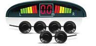 Парктроник на 6 датчиков, с цветным LED дисплеем, парковочные системы, автотовары