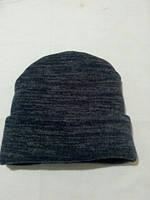 Зимняя шапка с хомутом для мальчика
