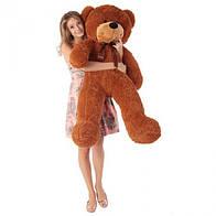 Плюшевая игрушка медведь, мишка 120 см, коричневый.