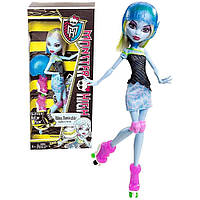 Лялька Monster High Еббі на роліках, серія SPORT (Abbey Bominable Roller Maze, Эбби Боминейбл Роллеры)