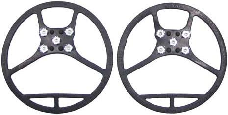 [Спец.ЦЕНА] Ледоступы для обуви MFH «5 шипов» (M) чёрные 39241