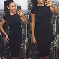Платье классика летний вариант черное, фото 1