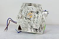 Декоративный светодиодный светильник Feron JD106 COB 10W прозрачный