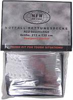 Спасательное одеяло серебристое MFH 27133
