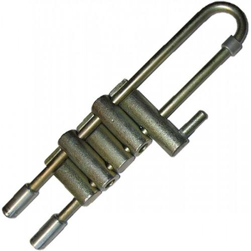 Спусковое устройство «Решётка» 5 валиков стальная Крок 01222