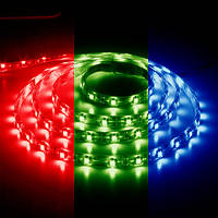 Светодиодная лента 12в - Feron LS606 RGB кристалл 5050 30шт 7.2Вт/м