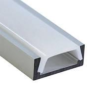 Алюминиевый профиль для светодиодной ленты накладной Feron CAB262 (2 метра)