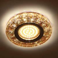 Декоративный светодиодный светильник Feron 8585-2  коричневый  с  LED подсветкой