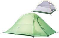 Ультралёгкая палатка для 2 человек Naturehike Cloud Up 2 зелёная