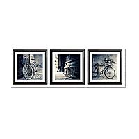 Модульная картина: Ретро велосипед (75х22 см)