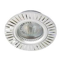 Встраиваемый точечный светильник Feron GS-M394 (серебро)