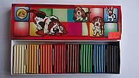 "Пластилин ""Собачки"" 8цв,200гр,Тетрада  для лепки,уроков труда и детского творчества и моделирования.Пластилін"