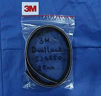 Самоклеющиеся съемно-разъемные застежки ЗМ™ Dual-Lock SJ3550, 25 мм, акрил, черный