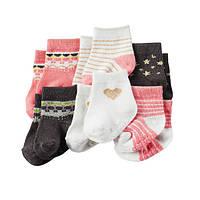 Комплект носочков для девочки Carters Любимые, Размер 3-12, Размер 3-12