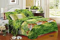 Комплект постельного белья двуспальный леопард
