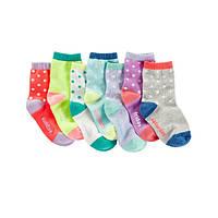 Комплект носочков для девочки OshKosh Горошки