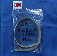 Самоклеющиеся съемно-разъемные застежки ЗМ™ Dual-Lock SJ4570, низкопрофильные, 25 мм, акрил, прозрачный
