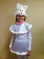 Карнавальный костюм Кошечки для девочки лазерка