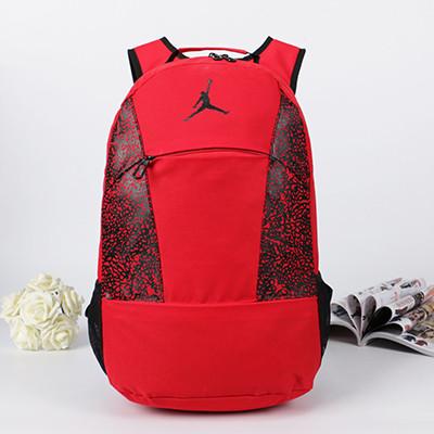 Спортивный рюкзак Jordan красный (реплика) - Интернет-магазин оригинальных кепок, рюкзаков и аксессуаров в Львове