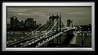 Репродукция в раме Горизонт Манхеттена