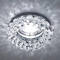 Встраиваемый светильник Feron CD4141 Mr16 (прозрачный хром)