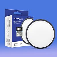 Вбудований світлодіодний світильник GLOBAL HPL 8W 5000K (1-HPL-001-C)