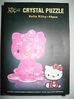 """Пазлы 3D кристальные """"Hello Kitty"""""""
