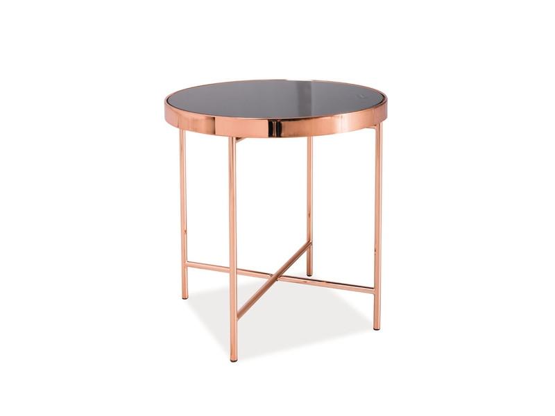 Стеклянный журнальный столик GINA C
