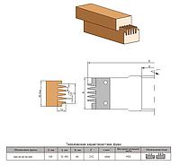 Фреза для сращивания древесины по длине     120х32(40)х50х2+2