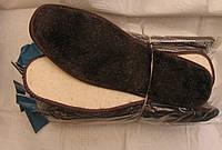 Стелька зимняя мех на белом войлоке 38-48р, фото 1