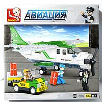 Конструктор Sluban Авиация Самолет и машинка