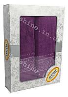 Набор полотенец Турця Merzuka Хлопок 100% в подарочной коробке 2 предмета, фото 1
