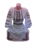 """Жіноче вишите плаття """"Меріт"""" (Женское вышитое платье """"Мерит"""") PT-0025"""