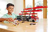 Автовоз Hot Wheels Mega Hauler Тягач на 50 машинок, фото 3
