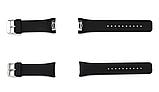 Силіконовий ремінець Primo для годин Samsung Gear S2 Sports SM-R720 / SM-R730 Black, фото 5