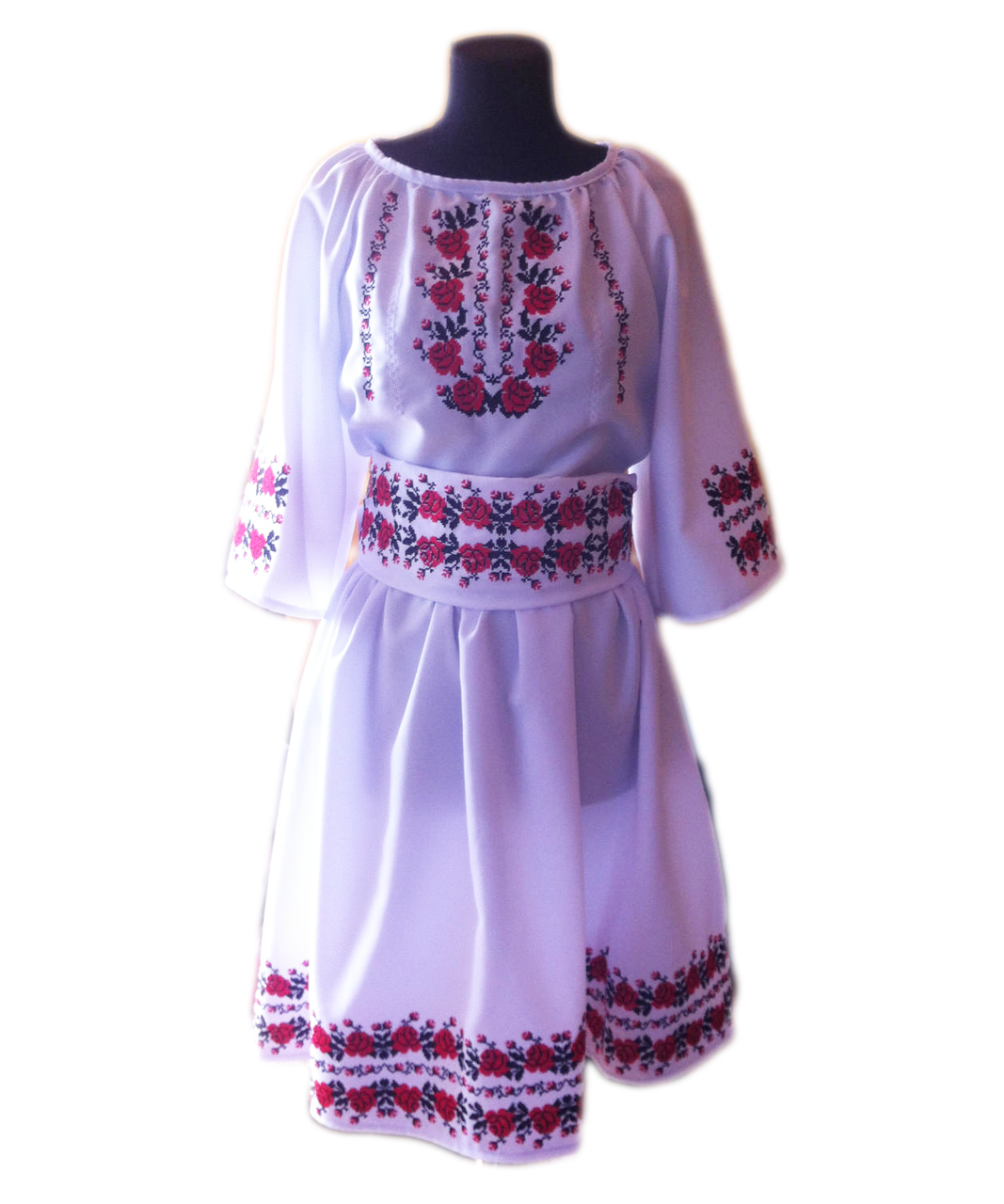 """Жіноче вишите плаття """"Мадол"""" (Женское вышитое платье """"Мадол"""") PT-0027"""