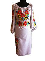 """Жіноче вишите плаття """"Маріа"""" (Женское вышитое платье """"Мариа"""") PT-0030"""