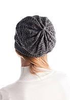 Теплая двойная зимняя шапка