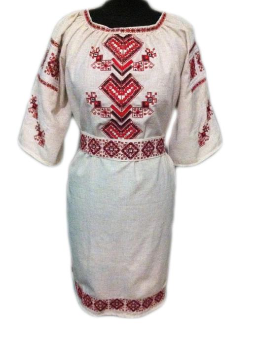 """Женское вышитое платье """"Мелони"""" PT-0033"""