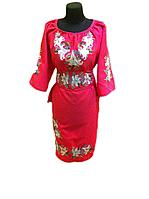 """Жіноче вишите плаття """"Лессі"""" (Женское вышитое платье """"Лесси"""") PT-0034"""
