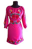 """Жіноче вишите плаття """"Мічелайн"""" (Женское вышитое платье """"Мичелайн"""") PT-0043"""