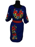 """Жіноче вишите плаття """"Лорета"""" (Женское вышитое платье """"Лорета"""") PT-0047"""