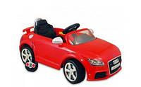 Детский электромобиль Alexis Baby Mix Audi TT с пультом ДУ красный