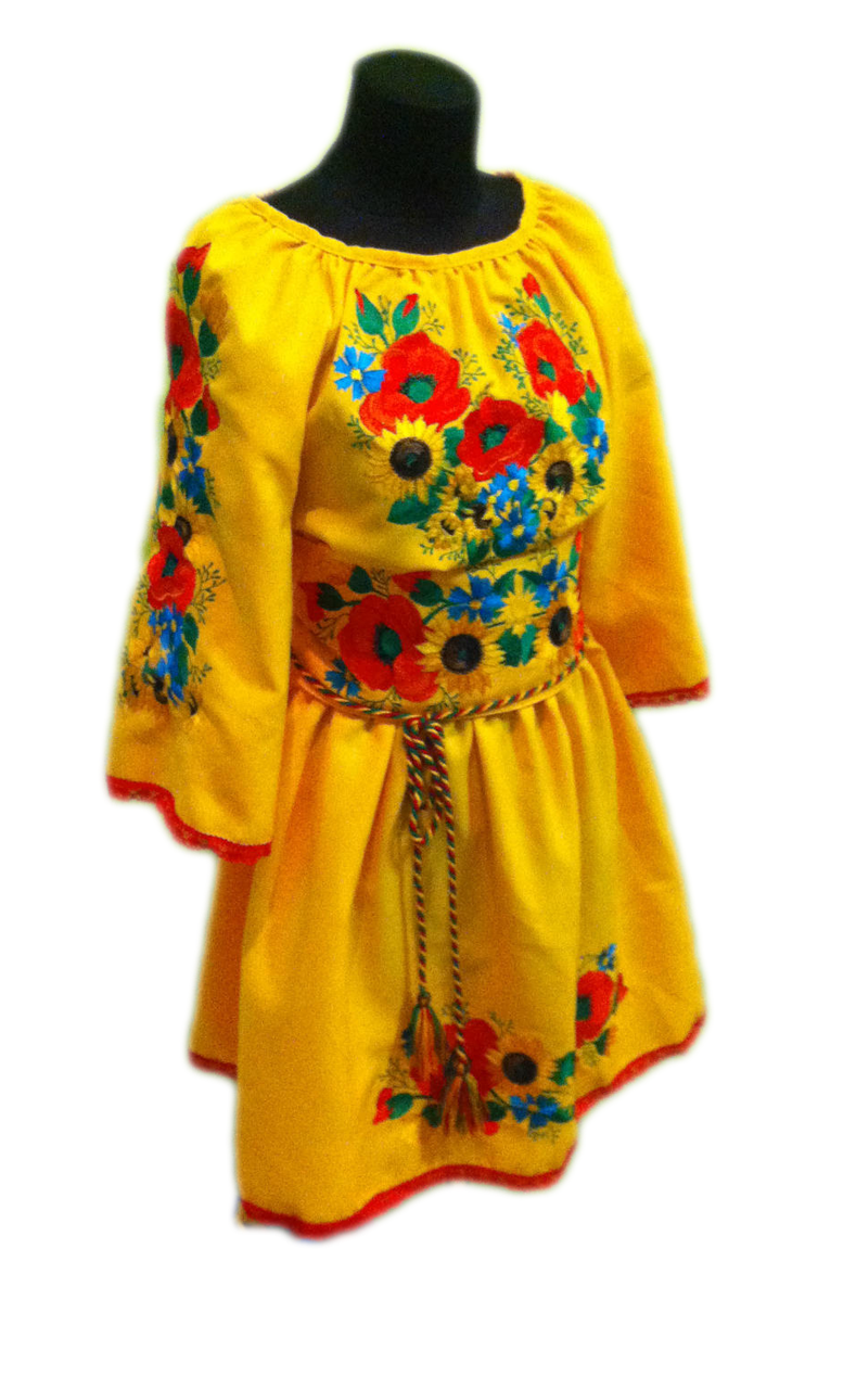 """Жіноче вишите плаття """"Мейні"""" (Женское вышитое платье """"Мейни"""") PT-0049"""
