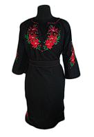 """Жіноче вишите плаття """"Лоріс"""" (Женское вышитое платье """"Лорис"""") PT-0053"""