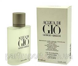 Giorgio Armani Aqua Di Gio Pour Homme EDT 100 ml TESTER туалетная вода мужская тестер (оригинал подлинник  Франция)