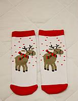 Детские зимние носки Олени