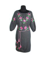 """Жіноче вишите плаття """"Максі"""" (Женское вышитое платье """"Макси"""") PT-0056"""