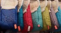 Зимние теплющие непродуваемые конверты на овчине, конверты в санки.
