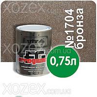 Vik Вик FERROGAMMA,3в1-Бронзовый № 1704 краска для металла 0,75лт